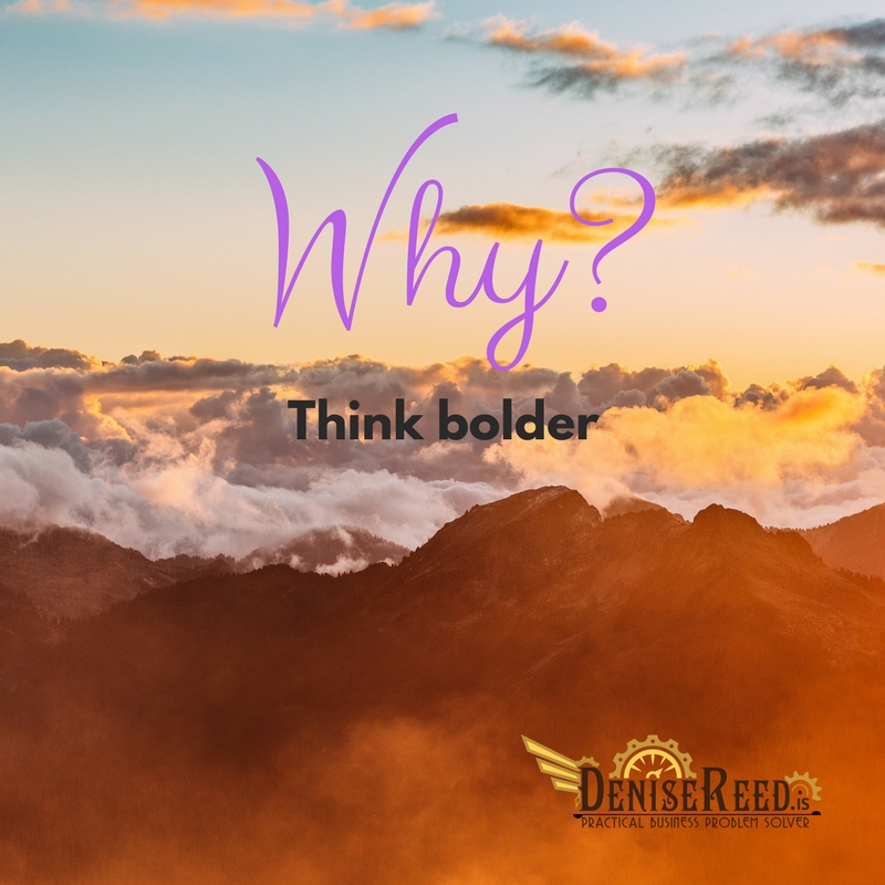 'Why' to question...blog post